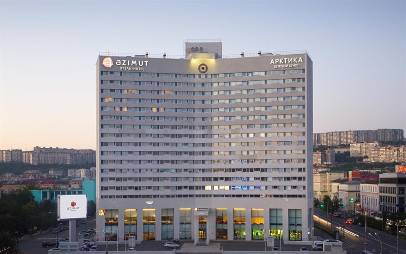 Azimut hotel in Murmansk