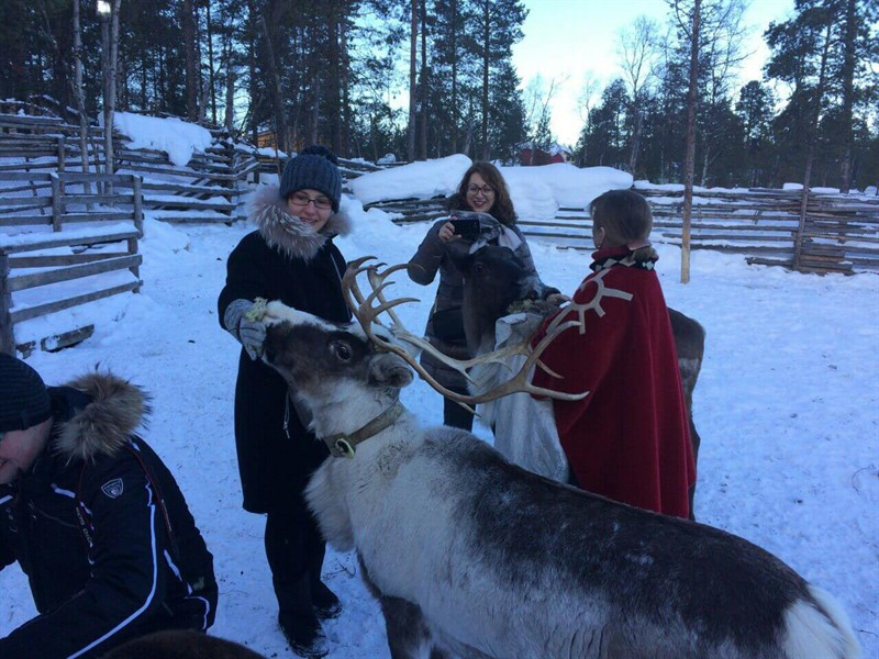 Tour to the Sami village Loparskaya