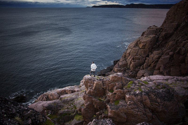 Teriberka village arctic ocean murmansk